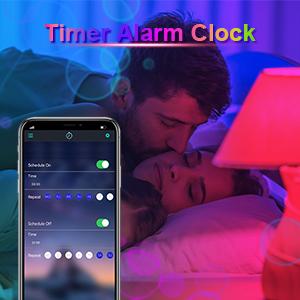 Reloj despertador con temporizador