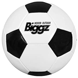 Biggz soccer ball Black & White