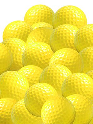 foam practice golf balls