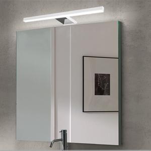 Lámpara LED de Espejo 10W 820LM Lámpara de Baño Azhien, Blanco Neutro 4000K Lámpara LED de Pared Luz de Pared IP44 230V Luz de Espejo de Baño de Acero Inoxidable 60cm: Amazon.es: