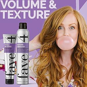 big hair, texture, volume, spray, thickening, fine hair, thin hair, waves