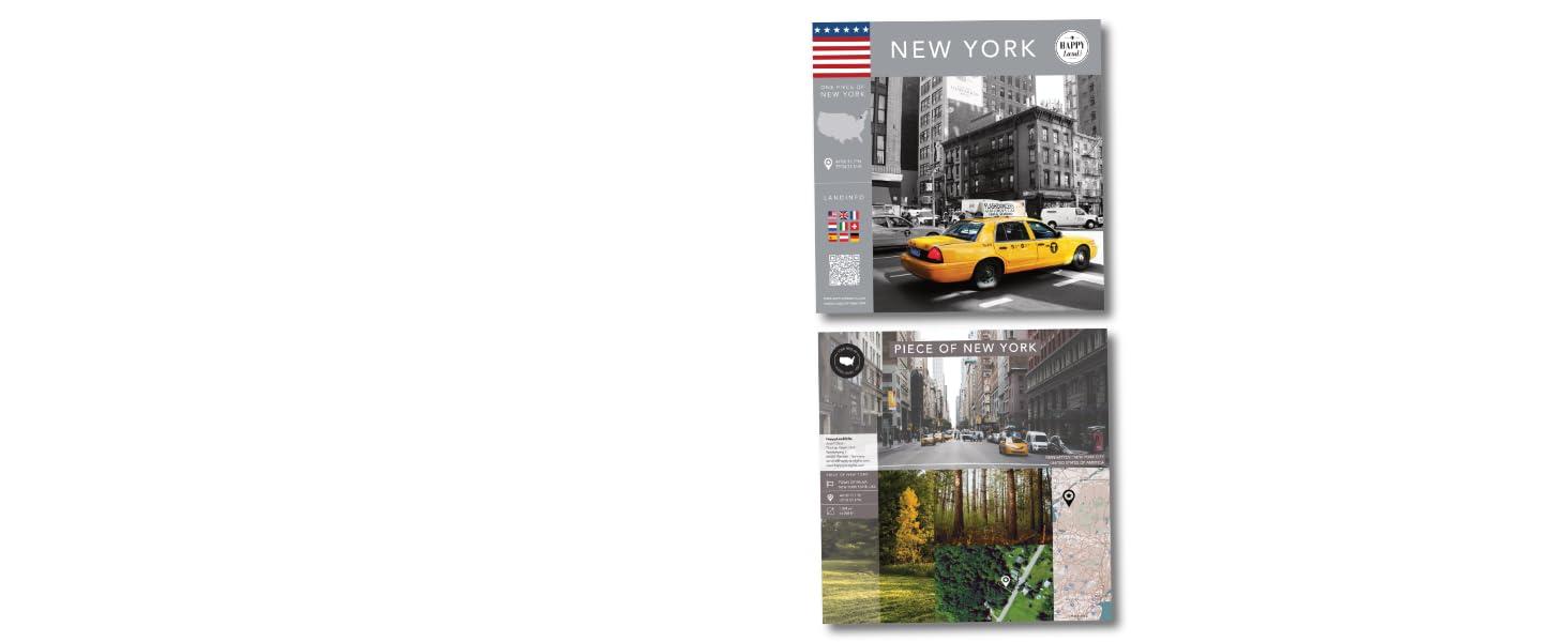 Land Gift Happyland unique New York London Paris piece