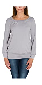Alkato Chemisier Femme Tunique /à Manches Longues Long Shirt