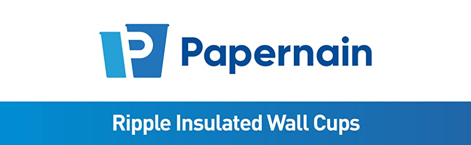 Papernain Ripple Insulated Wall Cups