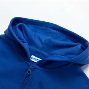 Boy's Fleece Hoodies blue