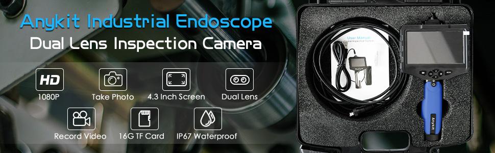 Dual lens endoscope