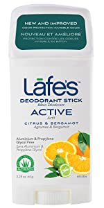 LAFE's Active Roll On deodorant