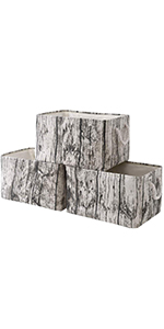 tree stump 3-pack