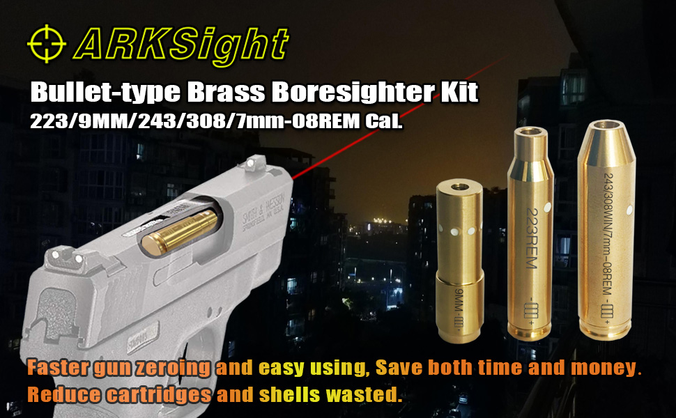bullet-type brass bore