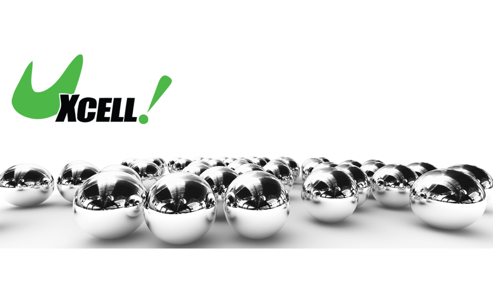 uxcell Precision Balls 1//8 Solid Chrome Steel G25 for Ball Bearing Bike Bicycle Keychain Wheel 500pcs