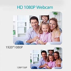 Camara web 1080P HD  Camara web 1080P HD con micrófono, cámara web de computadora USB para computadora portátil, reducción de ruido, visión de ángulo amplio de 105 ° para streaming, confrencia de zoom, juegos, YouTube Skype FaceTime. (Negro) e7a275fa de43 4d37 a34a 37b81adb8da7