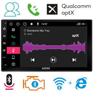 ATOTO S8 Bluetooth aptx