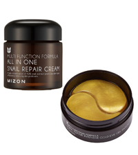 mizon mizon all in one snail repair cream mizon snail repair gold eye patch eye treatment gel eye