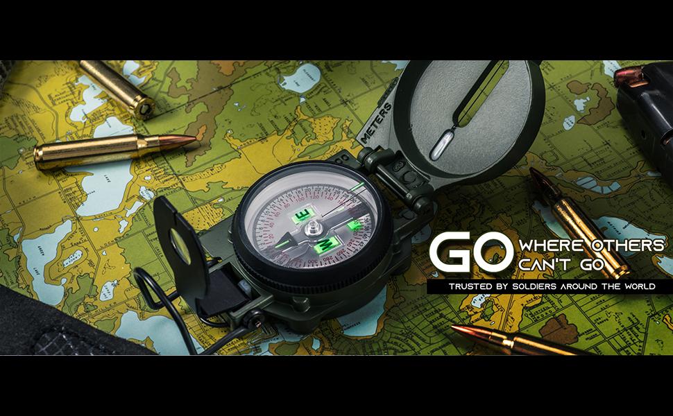 Cammenga Lensatic Tritium Compasses military army compasses