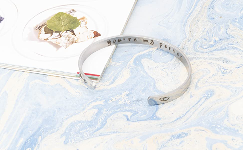 A N KINGPiiN Inspirational Bracelets for Women Inspirational Gift for Women Girls Men