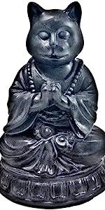Yoga Pose Statue - Namaste Yoga Figurine - Resin Meditation Sculpture - Yoga Desk Decor