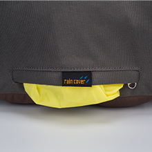 Rain Cover Included in bottom zipped pockets