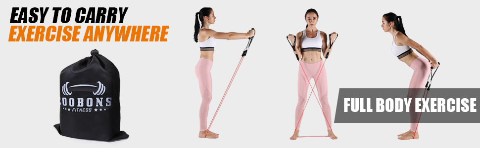 Resistance Bands Easy to Carry