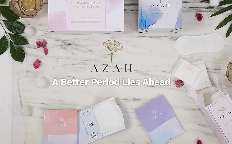 Towards a more comfortable period, with Azah