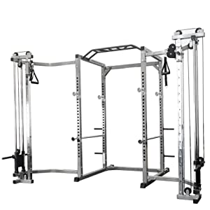 power rack, cable crossovers, crossover attachments, cable attachments, archon, titan, rogue, cap