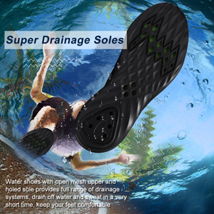 black water shoes