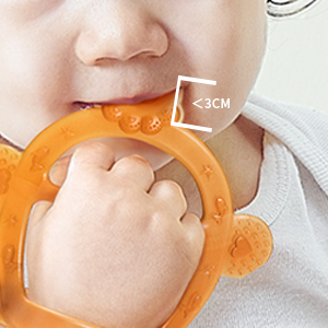all-rounded infant biting toy