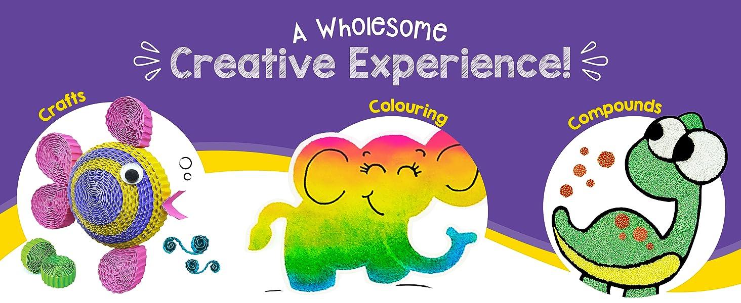 Crafts Colouring Compounds Creative Activity Set