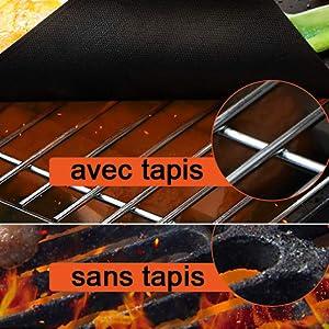 Tapis de Cuisson Barbecue