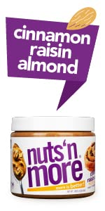 Nuts N More - Cinnamon Raisin Almond