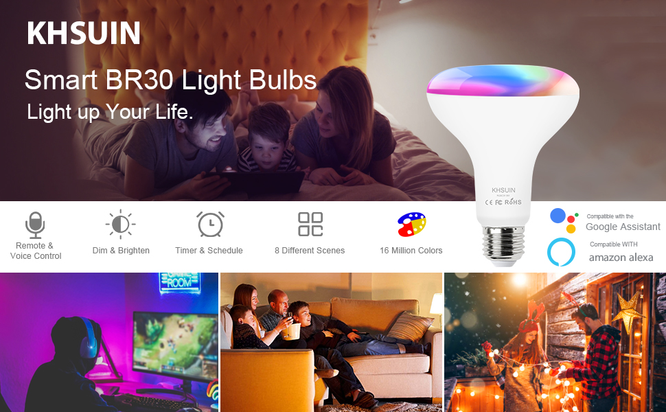 KHSUIN Smart Light Bulb