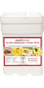 food storage emergency supply bucket