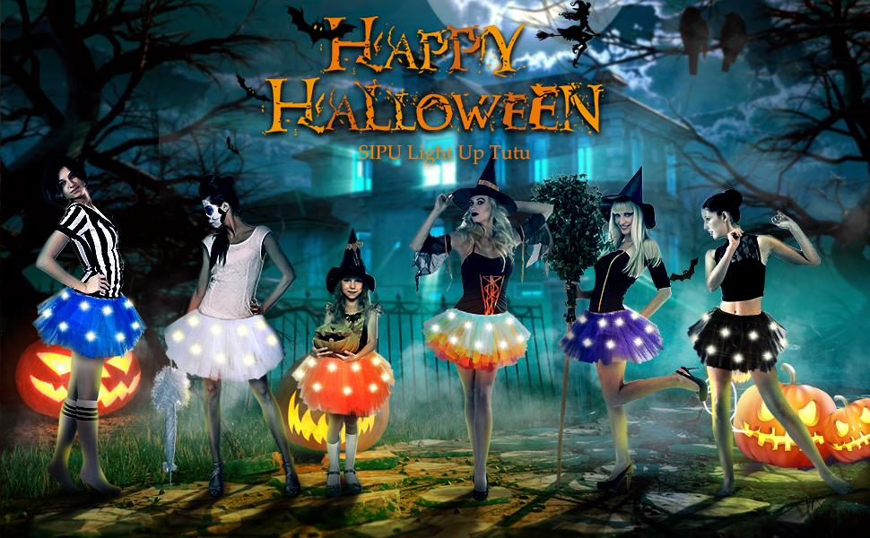 halloween tutus for women