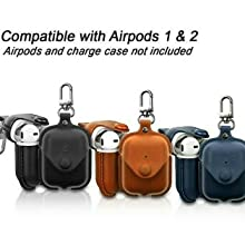 Leather Air-Pods case