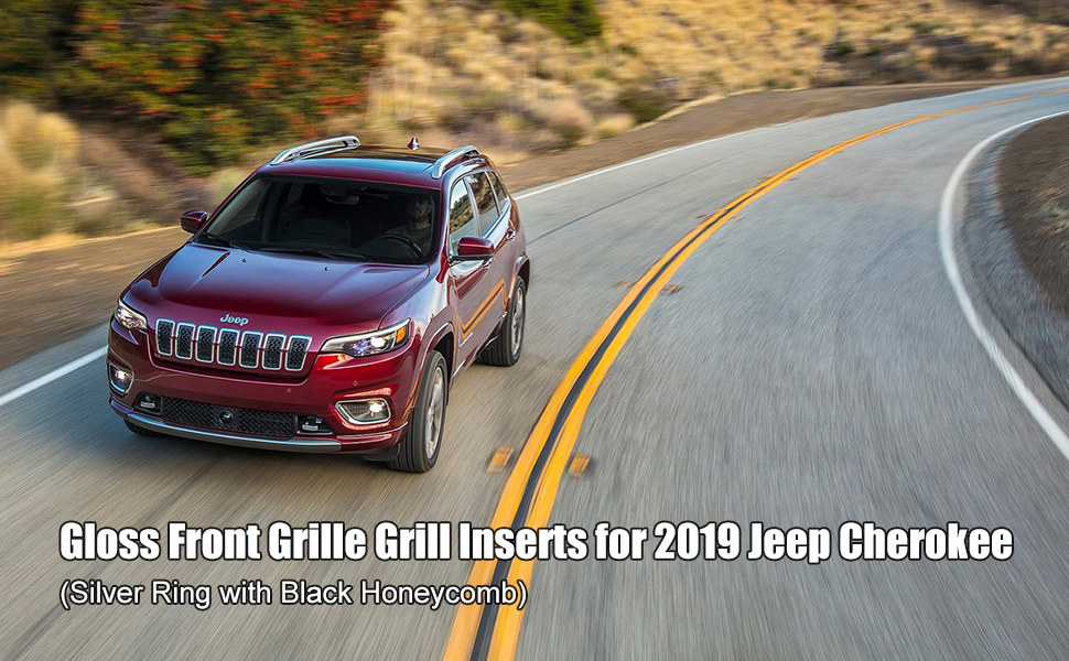 2019 Cherokee Accessories Chrome Grill Inserts