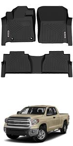Toyota Tundra 2014-2021 Double Cab / Crew Max Cab