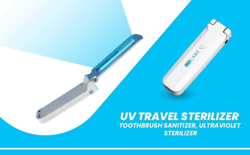 UV Travel Sterilizer - White