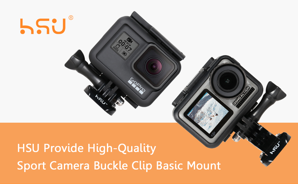 Quick Release Buckle Clip Basic Base Mount