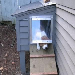 gun dog house door dog doors