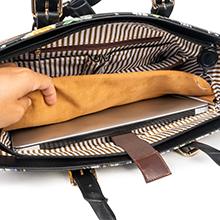Women Shoulder Bag with Laptop Compartment