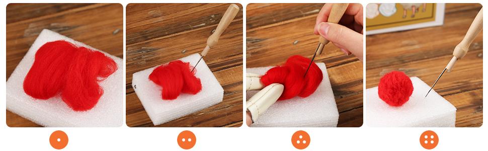 Wool Roving Bulk