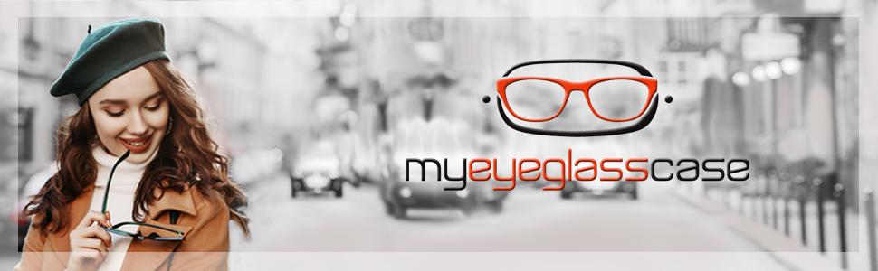 MyEyeglassCase women extra large sunglasses case metal hard shell sunglass case hard eyeglass case