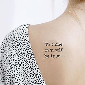 famous film lines tattoo