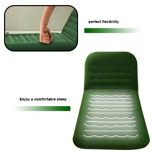 coj/ín m/óvil para uso extendido al aire libre para asiento trasero de SUV Colch/ón de aire para SUV con 2 almohadas inflables para coche WEY/&FLY colch/ón inflable de viaje 4 bolsas de aire cama de aire para acampadas