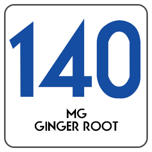 140 MG Ginger Root Extract