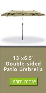 patio umbrella 13ft