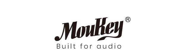 Moukey Peak Power 1040W Portable Bluetooth Karaoke Speaker System - PA Stereo