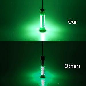 GREEN LED UNDERWATER FISH LIGHT LURE