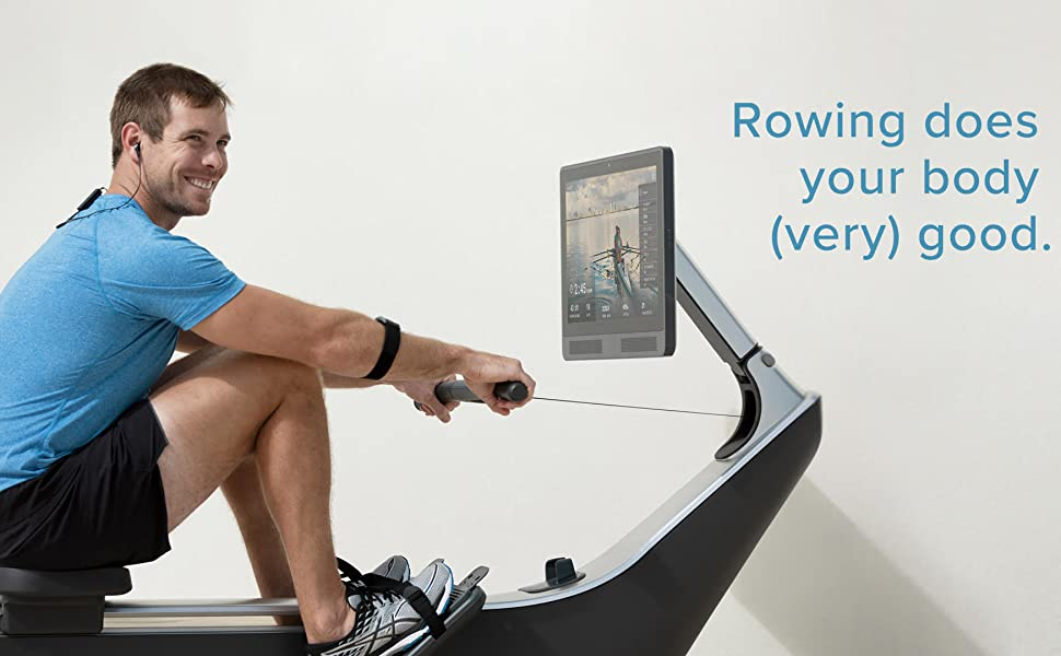 rowing machine rower water exercise row home fitness total body hydro live outdoor