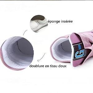 Jamron Femmes Mode Talon Cach/é Compens/é Chaussure de Tennis dascenseur Confortable Daim/&Tissu Chaussure de Formateur