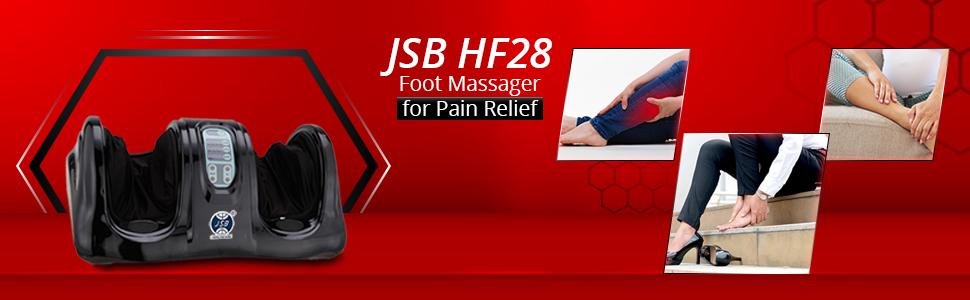 jsb hf28 compact foot massager machine for pain relief